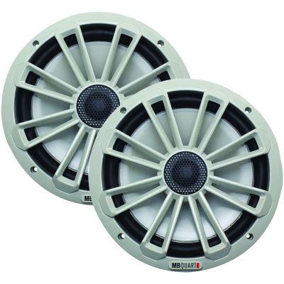 MB QUART NK1-120 Nautic Series 8IN 140-Watt 2-WayCoaxial Speaker System (Not Illuminated)