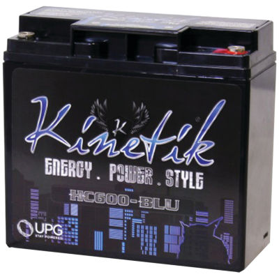 Kinetik 40921 HC BLU Series Battery (HC600; 600 Watts; 18 Amp-Hour Capacity; 12 Volts)