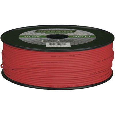 The Install Bay 18-Gauge Primary Wire; 500ft