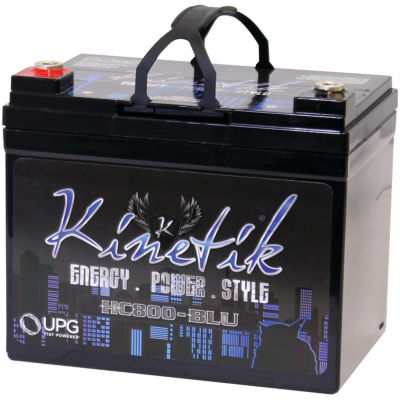 Kinetik 40922 HC BLU Series Battery (HC800; 800 Watts; 35 Amp-Hour Capacity; 12 Volts)