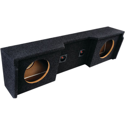 ATREND A152-10CP BBox Series Subwoofer Box for GMVehicles (10IN Dual Downfire; GM Extended Cab)
