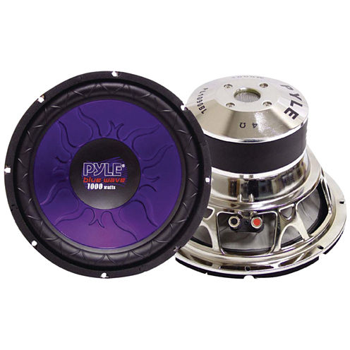 Pyle PL1590BL Blue Wave Series High-Power Subwoofer (15IN)