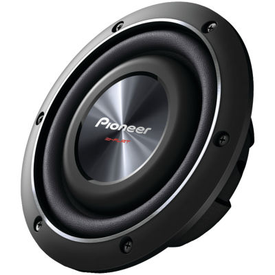 Pioneer TS-SW2002D2 8IN 600-Watt Shallow-Mount Subwoofer with Dual 2? Voice Coils