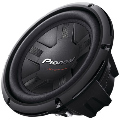 Pioneer TS-W261S4 Champion Series 10IN 1;200-Watt4? Subwoofer (Single Voice Coil)