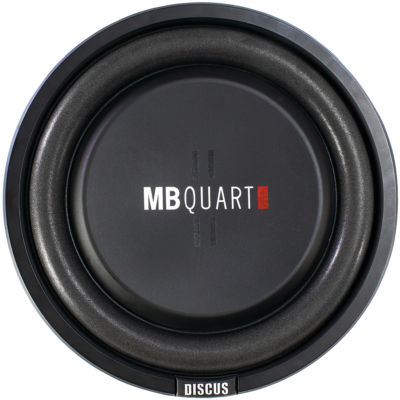 MB Quart DS1-254 Discus Series 400-Watt Shallow Subwoofer (10IN)