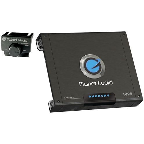 Planet Audio AC1200.2 ANARCHY Full-Range MOSFET Class AB Amp