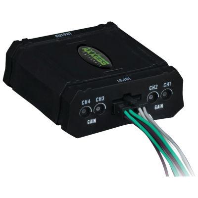 Axxess AX-ALOC648 4-Channel Adjustable Line-OutputConverter (80 Watts)