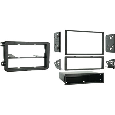Metra 99-9011 2005 & Up Volkswagen Single- or Double-DIN Installation Multi Kit