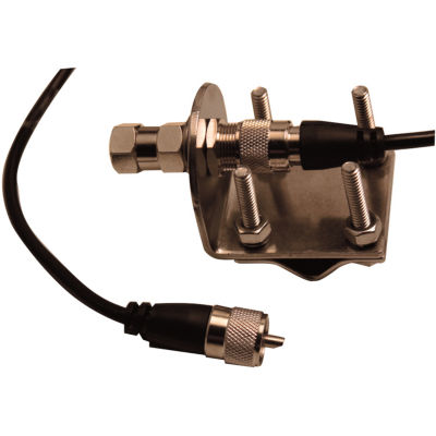 Browning BR-MM-18 Mirror-Mount Kit with CB AntennaCoaxial Cable