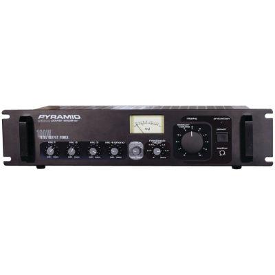 Pyramid Car Audio PA305 Amp with Microphone Input(300 Watt)