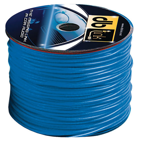 DB Link RW18BL500Z 18-Gauge Primary Remote Wire; 500ft (Blue)