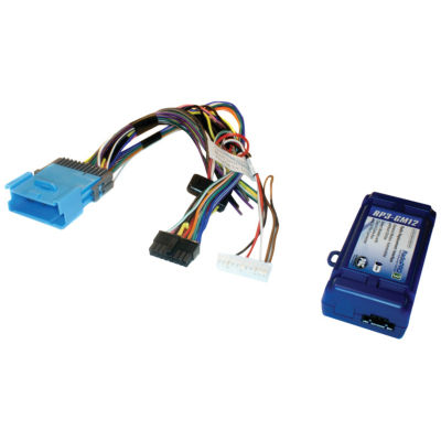 PAC Audio RP3-GM12 Radio Replacement Interface forSelect GM Vehicles (Class II Databus; 24-Pin Harness; Chevrolet Equinox 2005–2006 & Pontiac Torrent 2006)