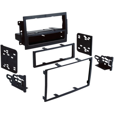 Metra 99-6510 2004–2011 Dodge/Jeep/Chrysler Single- or Double-DIN Installation Multi Kit For Vehicles with Factory Navigation