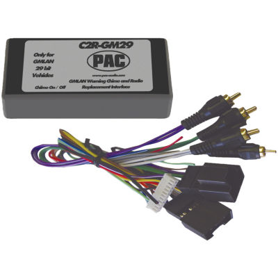 PAC Audio C2R-GM29 Radio Replacement Interface (29-Bit Interface for 2007 GM vehicles with No OnStarSystem)