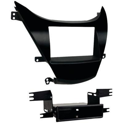 Metra 99-7346B Hyundai Elantra 2011–2013 Double-DIN/ISO-DIN with Pocket Installation Kit