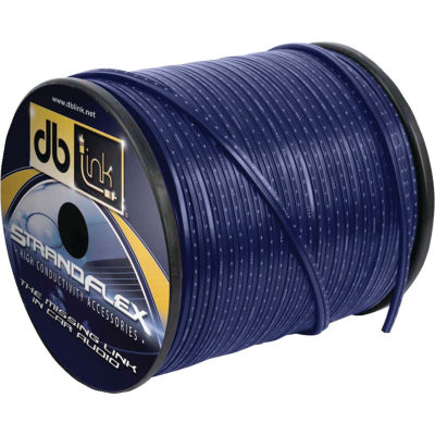 DB Link SFSW12BL250Z Strandflex Blue Speaker Wire(12 Gauge; 250ft)