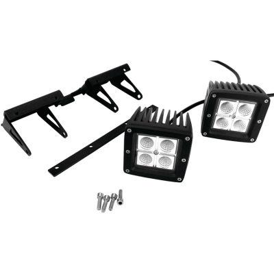 Race Sport Inc. RS-NR-L63HL Iron Hitch-Mount LED Spotlight Kit