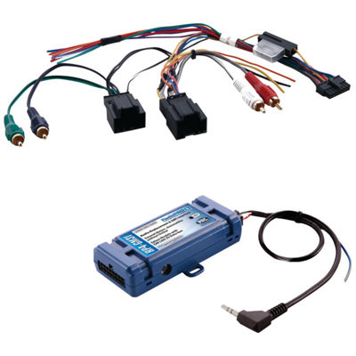 PAC Audio RP4-GM31 All-in-One Radio Replacement &Steering Wheel Control Interface (For Select GM vehicles with CANbus)