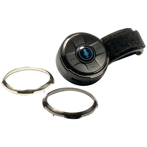 iSimple ISBC01 BluClik Bluetooth Remote Control with Steering Wheel & Dash Mounts
