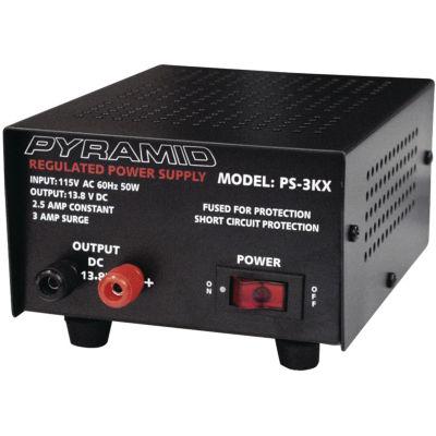 Pyramid Car Audio PS3KX 2.5-Amp 13.8-Volt Power Supply