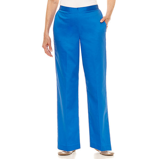 Alfred Dunner Corsica Woven Pull On Pants Petites