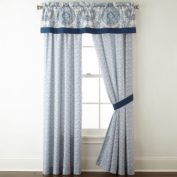 Home Expressions Carabella Rod-Pocket Curtain Panel
