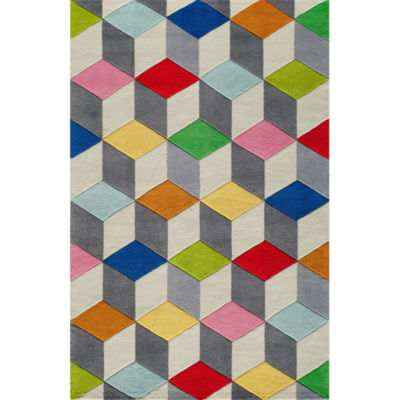 Momeni Lil Mo Blocks Hand Tufted Rectangular Rugs