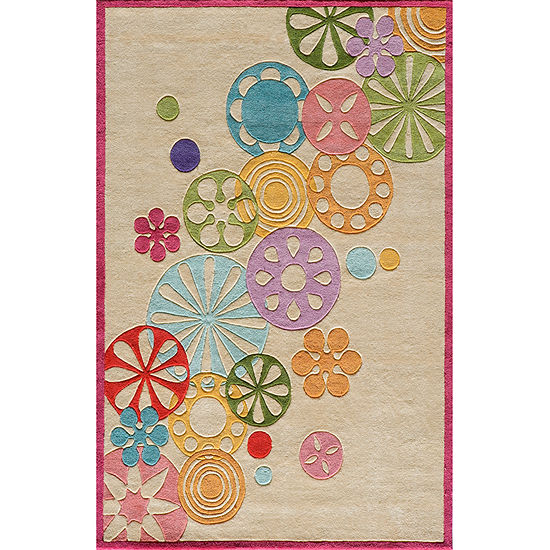 Momeni Lil Mo Modern Sprinkle Hand Tufted Rectangular Indoor Rugs