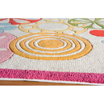 Momeni Lil Mo Modern Sprinkle Hand Tufted Rectangular Indoor Accent Rug