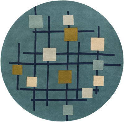 Decor 140 Faizod Hand Tufted Round Indoor Rugs