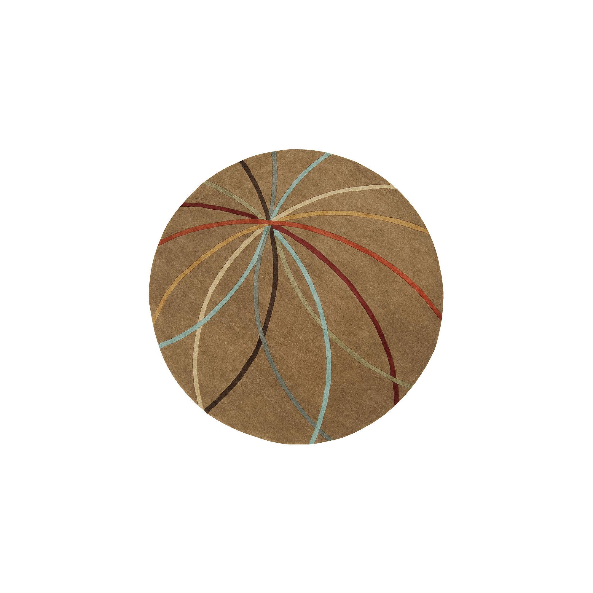 Decor 140 Obihiro Hand Tufted Round Rugs