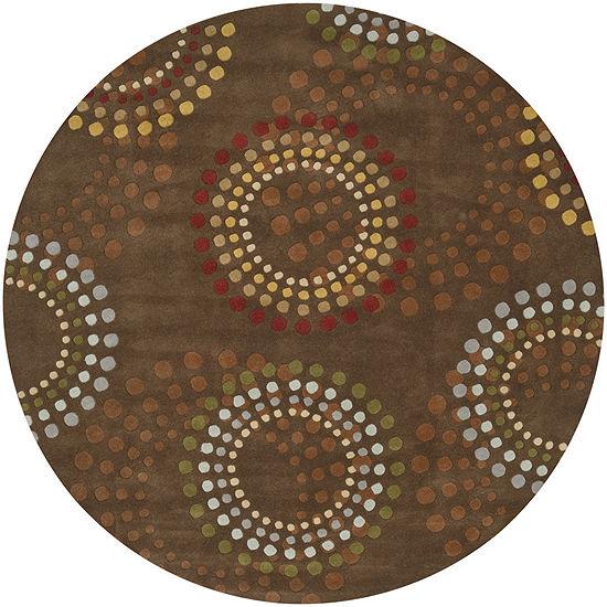 Decor 140 Oban Hand Tufted Round Indoor Rugs