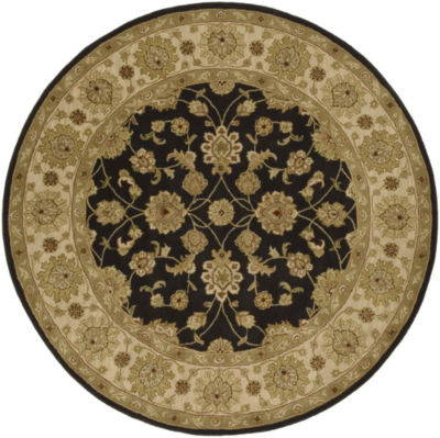 Decor 140 Justinian Hand Tufted Round Rugs