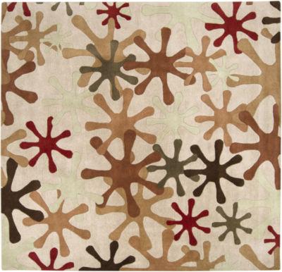 Decor 140 Merlanna Hand Tufted Square Rugs