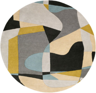 Decor 140 Quetzai Hand Tufted Round Rugs