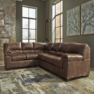 Signature Design by Ashley® Benton 3-Pc Left Arm Facing Sectional