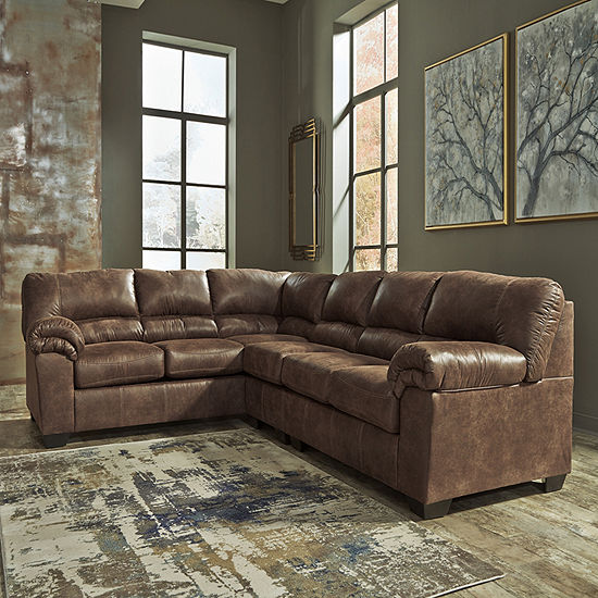 Signature Design by Ashley® Blake 3-Pc Left Arm Facing Sectional