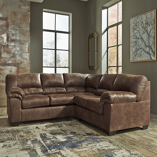 Signature Design By Ashley Benton 2 Pc Left Arm Facing Sectional