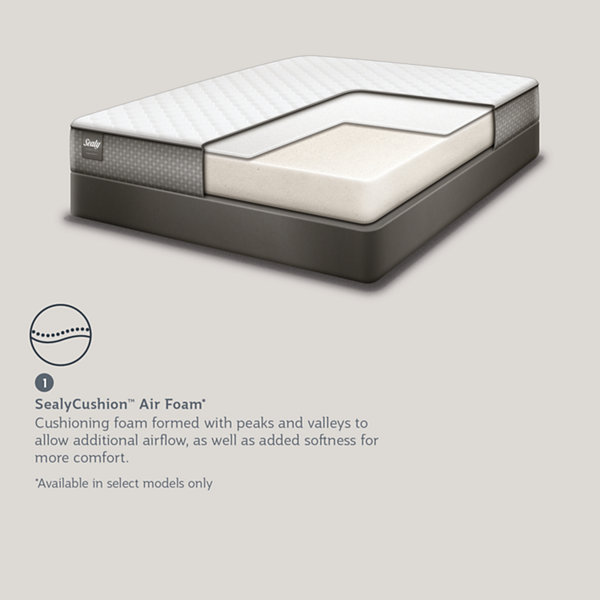 Sealy Essentials™ Ivory Treasure - Mattress Only
