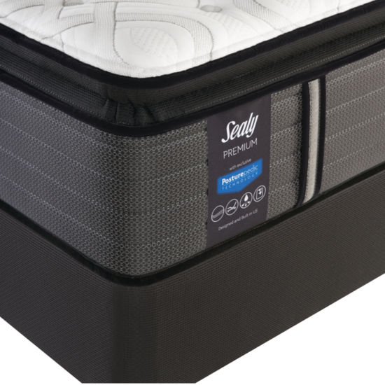 Sealy Performance™ Pershing Plush Pillowtop - Mattress + Box Spring