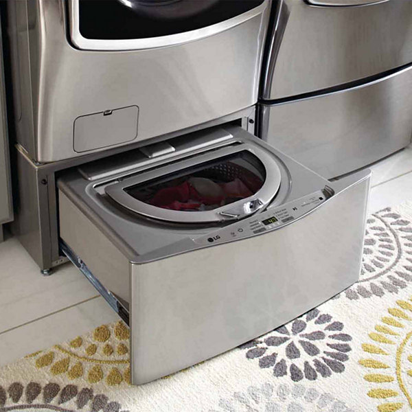 "LG 1.0 cu. ft. 29"" SideKick™ Pedestal Washer, LG TWINWash™ Compatible"