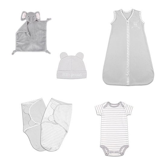 The Peanut Shell 6 Pc Baby Gift Set Baby Unisex