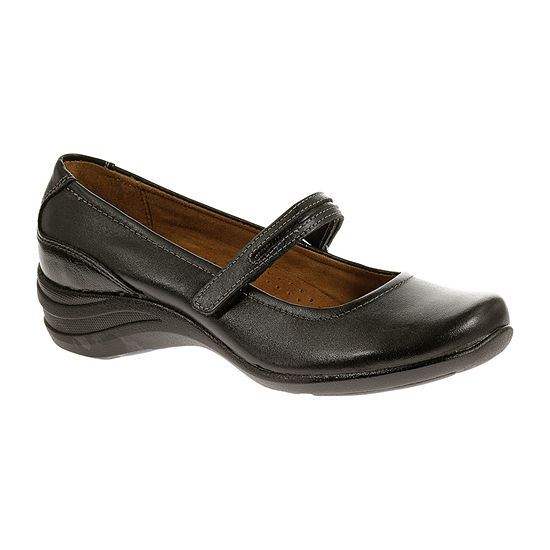 Hush Puppies Womens Epic Mary Jane Slip On Shoe Closed Toe Extra Wide Width