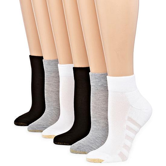 Gold Toe 6 Pair Quarter Socks - Womens