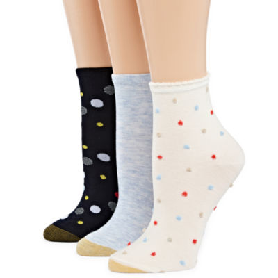Gold Toe Spring 2019 3 Pair Crew Socks - Womens