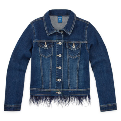 Arizona Feather Girls Denim Jacket
