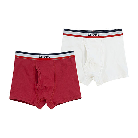 Levi's Boys 2 Pair Boxer Briefs Preschool / Big Kid