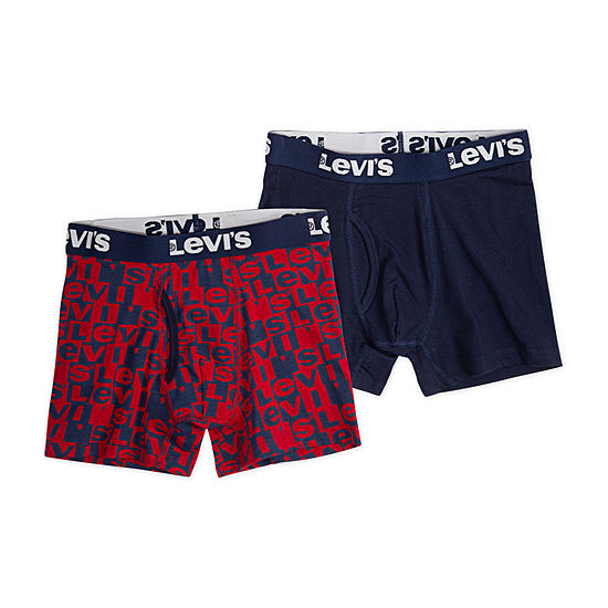 Levis 2 Pair Boxer Briefs Preschool Big Kid Boys