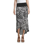 78b059f97a Poetic Justice Curvy French Terry Knit Maxi Skirt - JCPenney