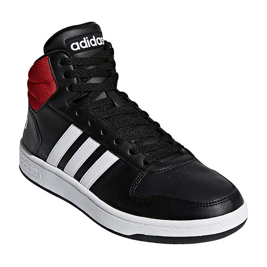 Adidas Hoops 2.0 Mid Basketball Shoe Mens Basketball Shoes Lace-up